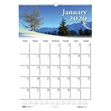 2020 House of Doolittle 12 x 16.5 Wall Calendar, Earthscapes Scenic, Multicolor (HOD378)