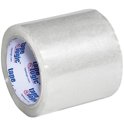 Tape Logic® Acrylic Tape, 1.8 Mil, 4 x 72 yds., Clear, 6/Case (T9211706PK)