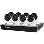Swann SWNVK-1685808-US 16-Channel 4K NVR with 2TB HD & 8 True Detect Bullet Cameras with Audio (SCUN