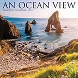 2019 Willow Creek Press 12 x 12 Ocean View Wall Calendar (01936)