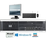 Refurbished Hp 8000 Ultra Small Form Factor  Core 2 Duo 2.33  4Gb Ram 100Gb Hard Drive Windows 10 Ho