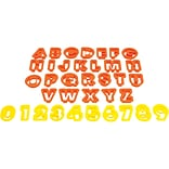 Starfrit 080845-006-0000 The Cookie Cutters (Numbers & Letters) (SRFT080845)