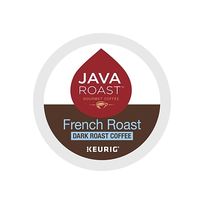 Java Roast French Roast K-Cup Pods, 24 per Box (52966)