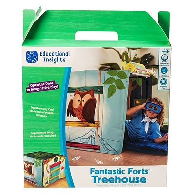 Educational Insights Fantastic Forts Treehouse (3656)