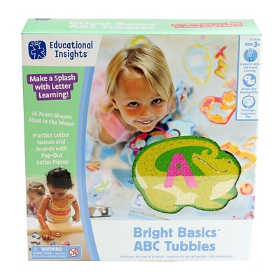 Educational Insights Bright Basics Abc Tubbies (3680)