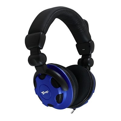 HamiltonBuhl Headset with Noise-Cancelling Mic, Blue (TP1-TRRS)