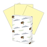 Hammermill Fore MP Color Paper, 8 1/2 x 11, LETTER-Size, 3-Hole Drilled, 20 lb., Canary (102921)