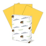 HammerMill® 20-lb. Recycled Fore MP Color Paper, 8-1/2x14, Goldenrod Yellow