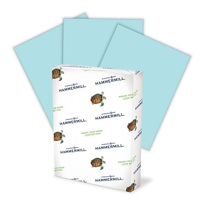 HammerMill® Fore® MP Color Paper, 11 x 17, Blue, Ream