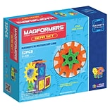 Magformers Magnets in Motion Plastic Gear Set, 32 pieces (MGF63202)