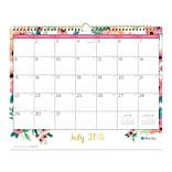 2018-2019 Blue Sky 15 x 12 Monthly Wall Calendar, Hailey (104824)