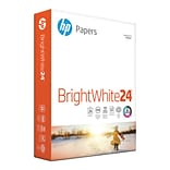 HP Bright White Inkjet Paper; 8-1/2x11