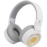 AT&T PBH20 Stereo Over-Ear Headphones with Bluetooth, White (PBH20-WHT)