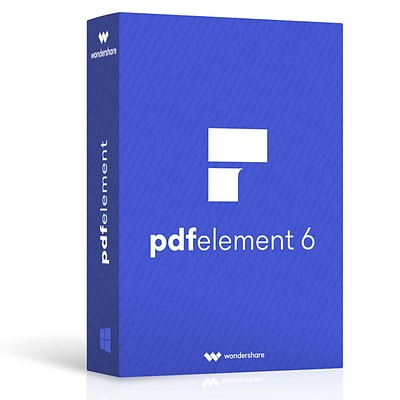 Wondershare PDFelement 6 for 1 User, Mac, Download (ws202991)