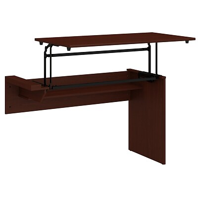 Bush Furniture Cabot 42w 3 Position Sit To Stand Desk Return