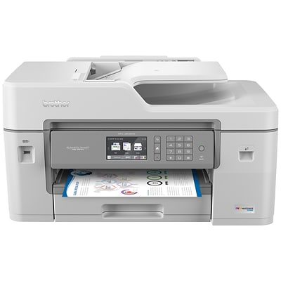 Brother MFC-J6545DW USB, Wireless, Network Ready Color Inkjet All-In-One Printer