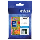 Brother Genuine LC3011C Standard-yield Cyan Ink Cartridge