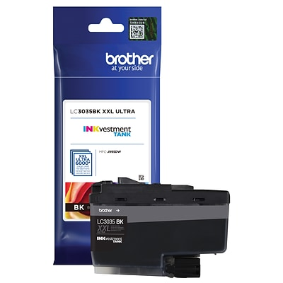 Brother LC3035 Black INKvestment Tank Ink Cartridge, Ultra High Yield
