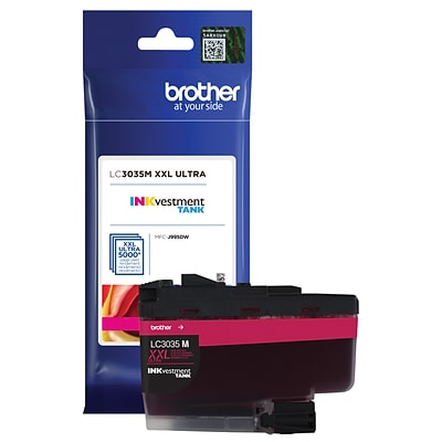 Brother Genuine LC3035M Ultra High-yield Magenta INKvestment Tank Ink Cartridge