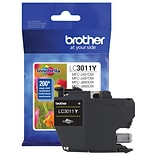 Brother Genuine LC3011Y Standard-yield Yellow Ink Cartridge