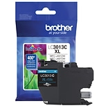 Brother Genuine LC3013C High-yield Cyan Ink Cartridge