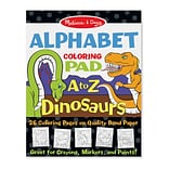 Melissa & Doug Dinosaurs Alphabet Coloring Pad A to Z (9108)