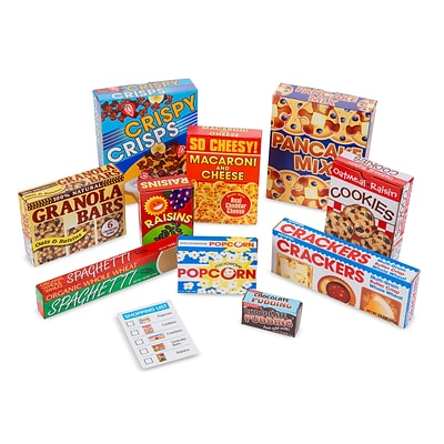 Melissa & Doug Lets Play House! Grocery Shelf Boxes (5501)