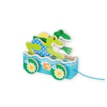 Melissa & Doug First Play Friendly Frogs Pull Toy (3615)