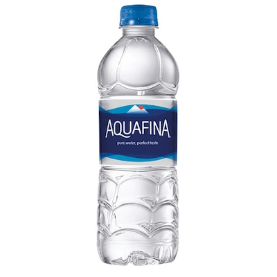 Aquafina Pure Water Bottle 16.9 Ounce, Pack of 24 (PEP50404)