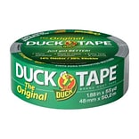 Duck Tape® Brand Original Strength Duct Tape, Silver, 1.88 x 55 Yards (241639)