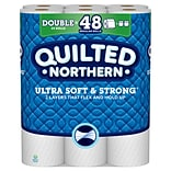 Quilted Northern Ultra Soft & Strong with Cleanstretch 24 Double Rolls