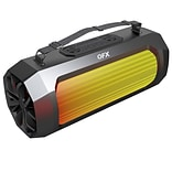 "QFX BT-920 Weather Resistant, 5"" Bluetooth Speaker with FM Radio"