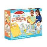 Melissa & Doug Mine to Love Bathtime Play Set (31703)