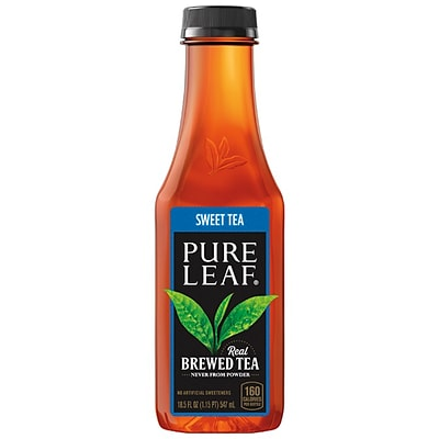 Pure Leaf Sweet Tea, 18.5 Oz., 12/Carton (PEP134071)