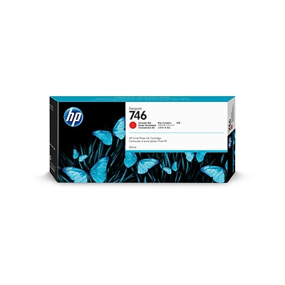 HP P2V81A Chromatic Red Ink Cartridge, Standard Yield