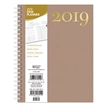 2019 Brown Trout  6 x 7.75 Weekly Desk Planner, Letters & Paper High Quality Designs and Material (9