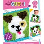 Colorbok Puppy Sew Cute! Latch Hook Kit (73305)
