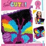 Colorbok Butterfly Sew Cute! Latch Hook Kit (73879)