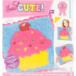 Colorbok Cupcake Sew Cute! Latch Hook Kit (73881)