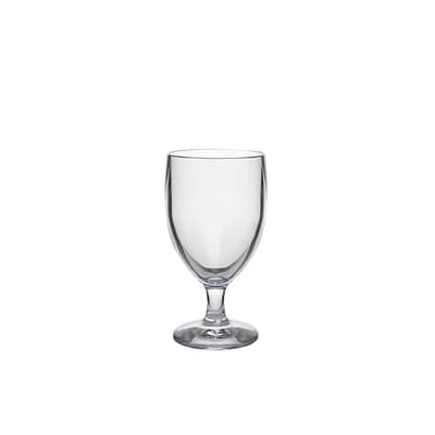 Strahl® Water Soda Goblet; Clear, 10 oz