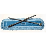 ODell Click-N-Go Blue/Gray Looped End 36L Re-usable Dust Mop Starter Kit (CGH600MHL36)