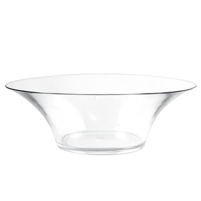 Strahl® Serving Bowl; 13.5 Diameter, Clear
