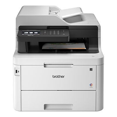 Brother MFC-L3770CDW Wireless Color All-in-One Laser Printer with Duplex Printing and Scanning