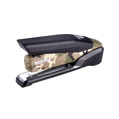 20 Sheet Capacity Classroom or Desktop Accessories Portable Black 2 Ct Durable Metal Desktop Stapler for Home Office Supplies 1 Pack Swingline Stapler Commercial Desktop Staplers