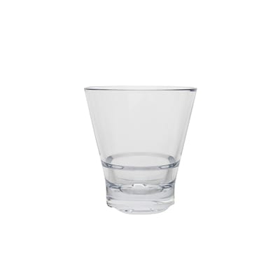 Strahl® CapellaStack Rock Tumblers; Clear, 5 oz