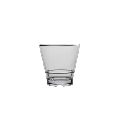 Strahl® CapellaStack Rocks Tumbler; Clear, 12 oz