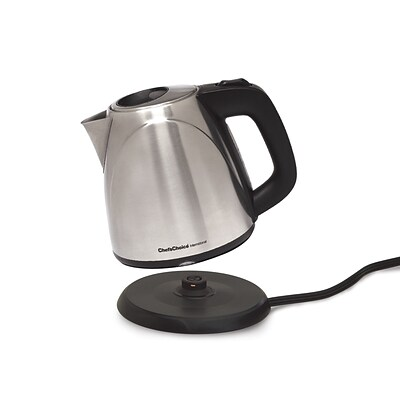 Chefs Choice 1 Liter International Cordless Compact Electric Kettle; Brushed Stainless Steel