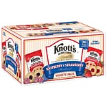 Knotts Berry Farm Raspberry and Strawberry Variety Club Pack, 36 Count (BIS59638)