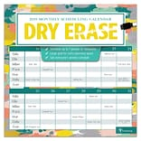 2019 TF Publishing 12 X 12 Dry Erase Wall Calendar (19-1149)