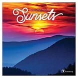 2019 TF Publishing 7 X 7 Sunsets Mini Calendar (19-2095)